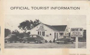 ONTARIO , Canada , 1930s ; Official Tourist Information Building # 2