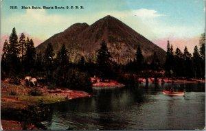 Postcard OR Oregon Black Butte Shasta Route SPRR Unposted