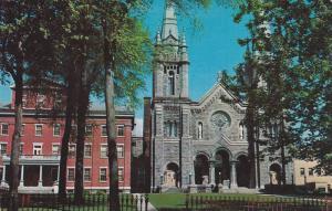 La Cathedrale et l'Eveche , Quebec , Canada , 50-60s