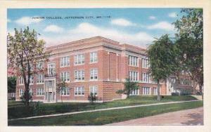 Exterior,  Junior College,  Jefferson City,  Missouri,  30-40s