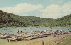 GRAFTON, West Virginia, 40-60s; Tygart Lake State Park Boat Docks, Boats