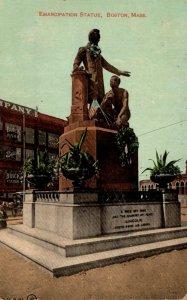 Massachusetts Boston Emancipation Statue 1912