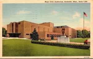 Minnesota Rochester The Mayo Clinic Auditorium 1943 Curteich