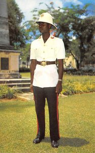 Nassau in the Bahamas Post card Old Vintage Antique Postcard Nassau Policeman...