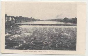 Oswego River from Lower Bridge, Fulton, New York, 00-10s