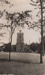 Hillingdon Church Grounds Lawns Middlesex Vintage Real Photo Postcard