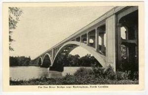 Pee Dee River Bridge, Rockingham, North Carolina, 1920-40s