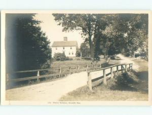 Pre-1945 rppc NICE VIEW Haverhill Massachusetts MA i5727