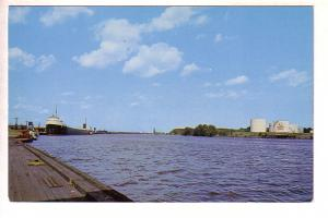 Harbour with Ship, Railway Tracks, Fort William now Thunder Bay, Ontario, Goldin