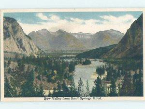 W-border HOTEL SCENE Banff Alberta AB AE1913