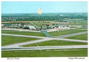 Minnesota   Fargo-Moorehead  Aerial Hector Field