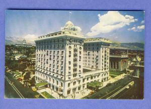 Beautiful Salt Lake City, Utah/UT Postcard, Hotel Utah
