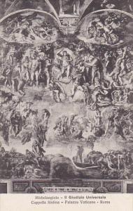 Michelangelo Il Guidizio Universale Cappella Sistina Palazzo Vaticano