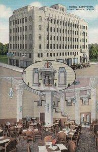 LONG BEACH , California , 1930-40s ; Hotel Lafayette