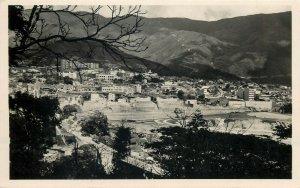 Venezuela Caracas photo postcard W. Haas circa 1957 air mail correspondence