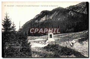 Old Postcard Dauphine Road Grande Chartreuse Col de La Charmette