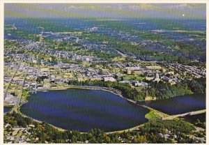 Aerial View Olympia Washington