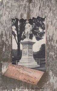 BARRE, Vermont, 1908 ; Burns Monument