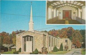 The Gatlinburg Presbyterian Church Reagan Drive at Cloverleaf Drive Tennessee