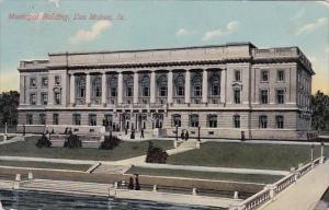 Iowa Des Moines Municipal Building 1912