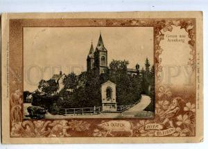 206640 GERMANY GRUSS aus ARENBERG 1903 year RPPC Coblenz