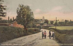 Mill Hill Brightlingsea School Children Playing Antique Postcard