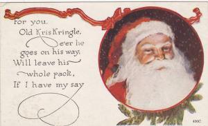 Old Kris Kringle portrait, 10-20s