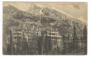C.P.R. Hotel, Banff, Alta, Alberta, Canada, 1900-1910s