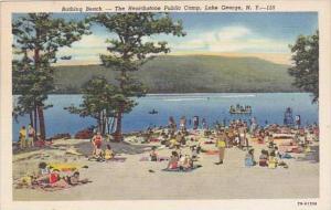 New York Lake George Bathing Beach The Hearthstone Public Camp