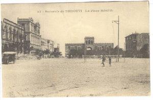 La Place Menelik, Souvenir de  Djibouti, Africa, 1900-1910s