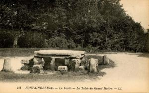 France - Fontainebleau. The Forest, Table Rock