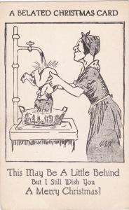 Artist H.A.W.: A Belated Christmas card , a little behind , 00-10s