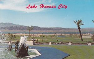 Portion of Golf Course, Lake Havasu, LAKE HAVASU CITY, Arizona, 40-60's