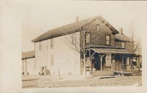 RP: SCHUYLER, PA  1900-10s , F.S.Relig's Store & Post Office