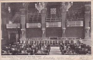Pennsylvania Harrisburg Senate Chamber In Pennsylvania's New State Capitol 1908