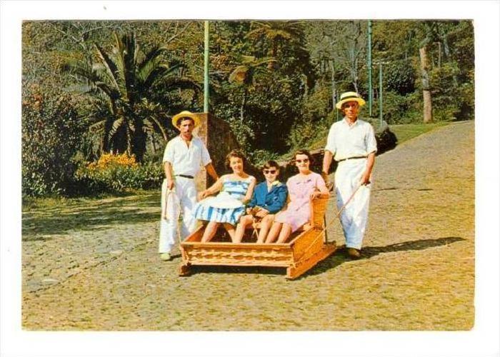 FUNCHAL (Madeira) , Portugal, 50-60s   Carro