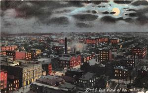 Columbus Ohio 1910 Postcard Aerial Birdseye View