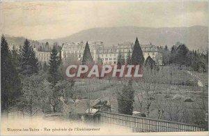 Old Postcard Divonne les Bains General view of the Establishment