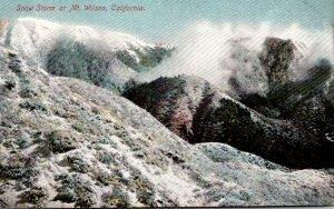 California Snow Storm At Mount Wilson