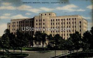 Charlotte Memorial Hospital Charlotte NC 1942