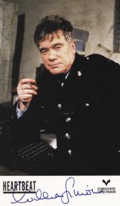 William Simons Alf Ventress Heartbeat Hand Signed Cast Card Photo