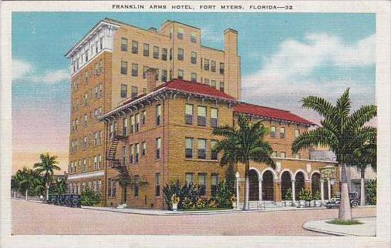 Florida Fort Myers Franklin Arms Hotel
