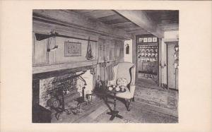 Sitting Room From Johannes Hardenbergh House Ulster County New York Winterthu...