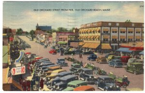Old Orchard Beach, Maine, Old Orchard Street From Pier