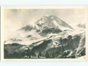 Pre-1950 rppc NICE VIEW Mount Baker - Welcome & Deming Near Bellingham WA W0566