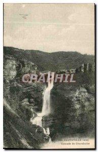 Old Postcard Hauteville Ain Cascade Charabotte