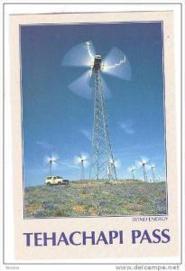 Windmill Power Generators, Tehachapi Pass , California , 1990s