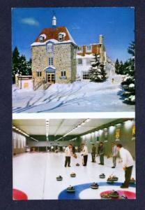 Chantecler Curling Club Ste Adele en Haut QUEBEC Canada