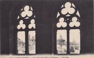 Vue Prise De La Porte De Narbonne, Cite De Carcassonne (Aude), France, 1900-1...