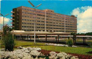 Mexico Hospital Social Security Hospital CCSS Dan Jose Costa Rica CA Postcard